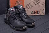 Мужские зимние кожаные ботинки CATERPILLAR Black  ., фото 8