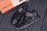 Мужские зимние кожаные ботинки CATERPILLAR Black  ., фото 10