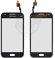 Touchscreen (сенсорный экран) для Samsung Galaxy J1 J100H/DS, черный, оригинал