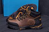 Мужские зимние кожаные ботинки Jack Wolfskin Outdoor Olive  ., фото 7