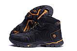 Мужские зимние кожаные ботинки Timderland  Black  ., фото 5