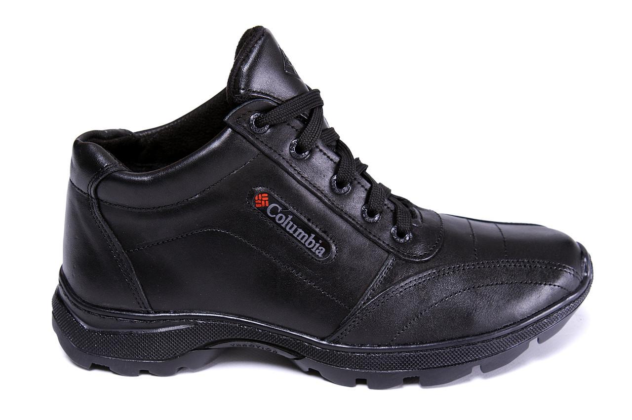 Мужские зимние кожаные ботинки Columbia ZK Antishok Winter Shoes .