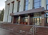 Облицовка Капустинским гранитом ступеней, площадки, колон, фото 2