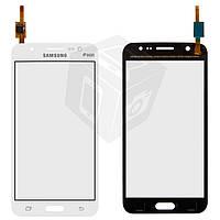 Touchscreen (сенсорный экран) для Samsung Galaxy J5 J500H/DS, оригинальный (белый)