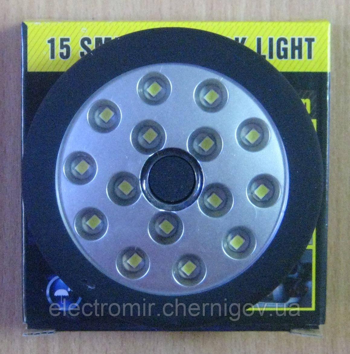 Фонарь кемпинговый TX-015 на батарейках с магнитом