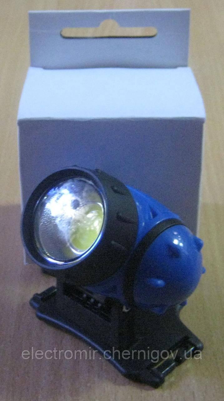 Фонарь налобный на батарейках WD-266