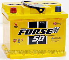 Аккумулятор автомобильный 6СТ-50 Forse