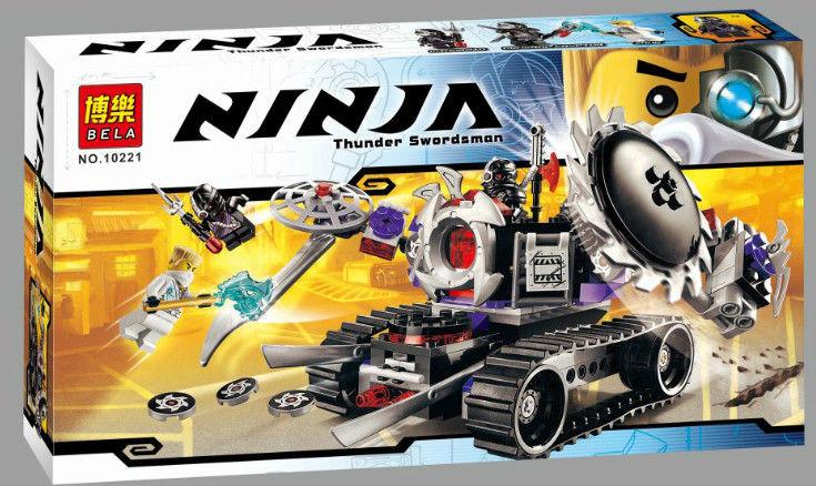 Конструктор Bela 10221 Ninjago Разрушитель Ниндзяго 252 деталей