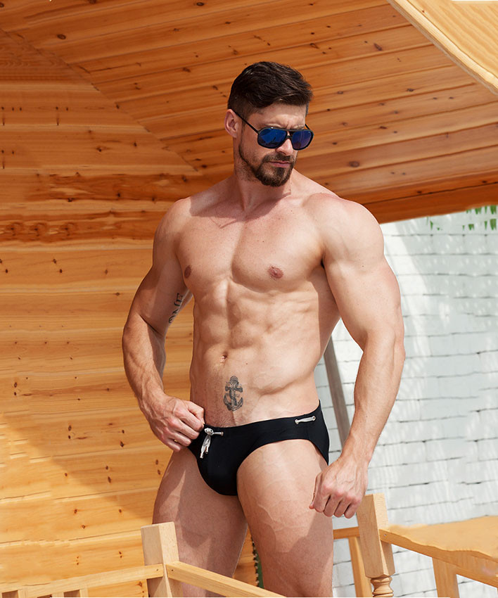 Модные мужские плавки Desmit - №5905