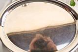 Посеребренный овальный поднос, серебрение, мельхиор, Англия, винтаж, фото 3