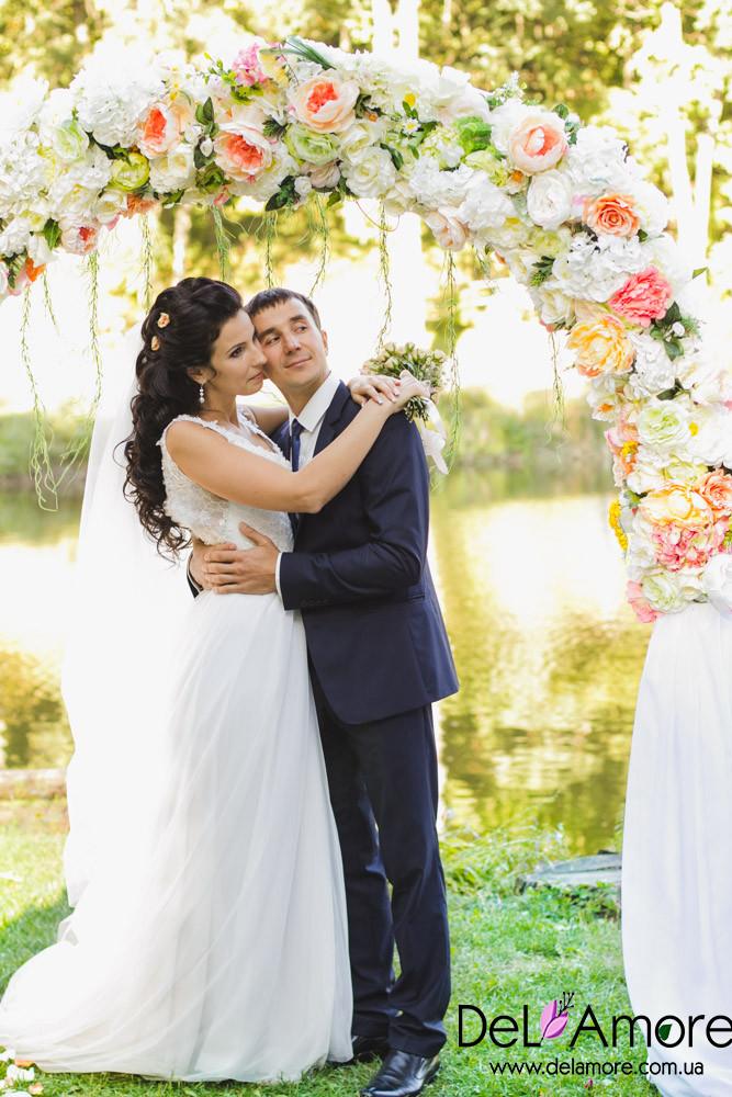 Свадебная арка в аренду - Дизайн-студия цветов Del Amore в Харькове