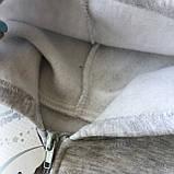 Теплый костюм с начесом  на девочку 416. Размер 110 см, 116 см, 122 см, 128 см, фото 3