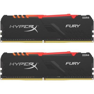 Модуль памяти для компьютера DDR4 16GB (2x8GB) 3000 MHz HyperX Fury Kingston (HX430C15FB3AK2/16)