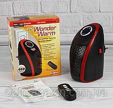 Обігрівач Тепловентилятор Обігрівач електричний Портативний обігрівач в Wonder Warm, фото 2