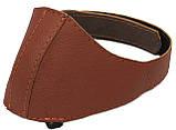 Автопятка кожаная для женской обуви светло коричневая 608835-3, фото 3