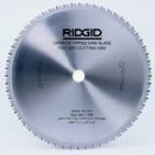 Твердосплавный диск для пил Ridgid 590