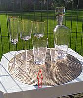 """Набор стаканов 4 шт """"Прозрачный трайангел"""", 500 мл, TR005"""