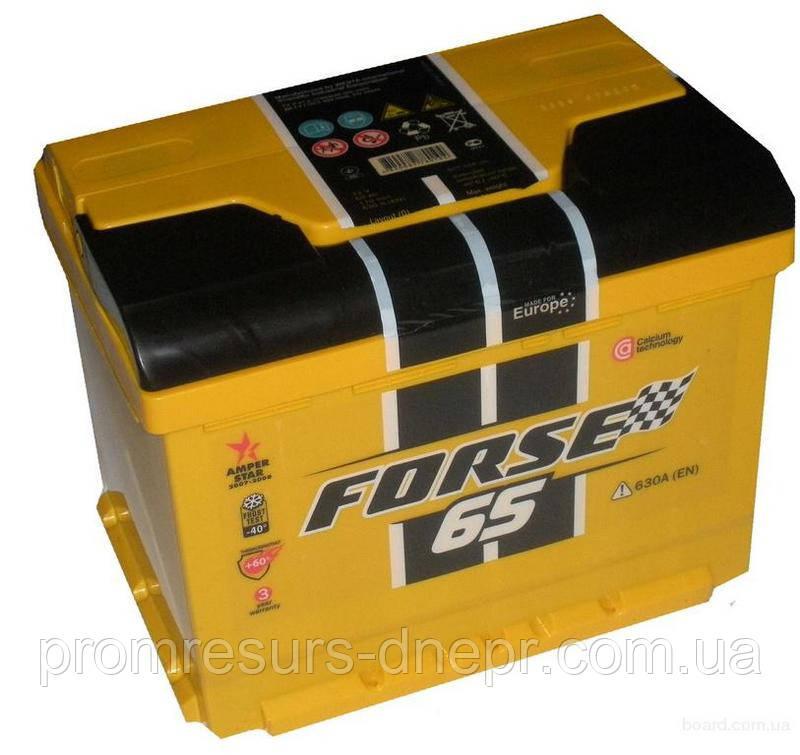 Аккумулятор автомобильный 6СТ-65 Forse,Westa,Inter