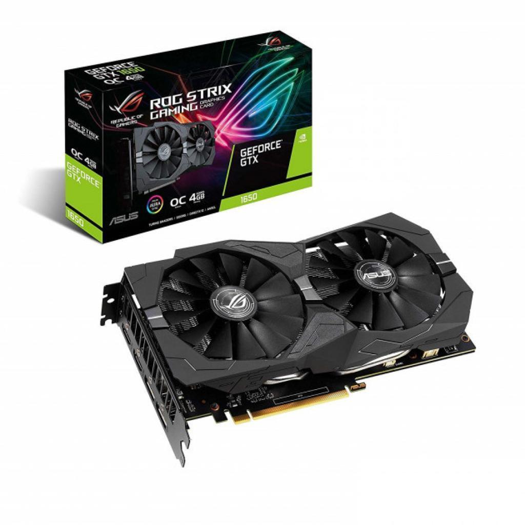 Видеокарта ASUS GeForce GTX1650 SUPER 4096Mb ROG STRIX OC GAMING (ROG-STRIX-GTX1650S-O4G-GAMING)