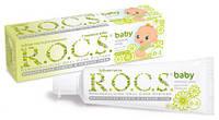 Зубная паста R.O.C.S. Рокс baby душистая ромашка, от 0 до 3 лет, 45г