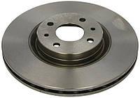 Тормозной диск передний вентилируемый (284х22) (4отв)  Doblo-01- Fiorino-08 Bravo-95- A.B.S.-16061 Нидерланды