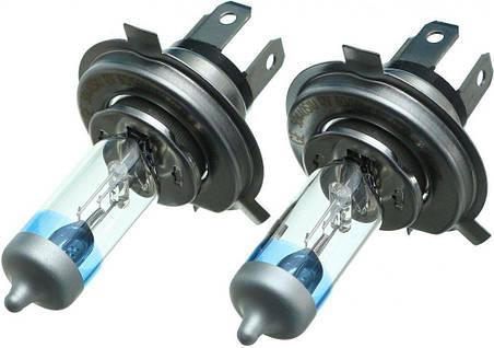Автолампа галоген GE H4 60/55W 12V (2 шт./картонбокс) Megalight Ultra +90%, фото 2