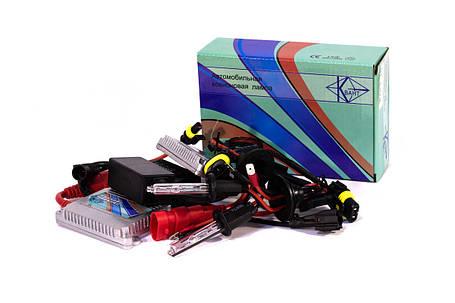 Комплект ксенона КВАНТ H1 6000К 12v с блоками AC, фото 2