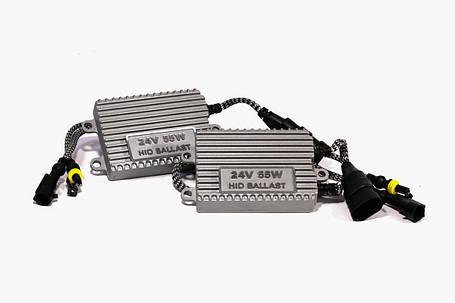 Комплект ксенона КВАНТ H1 6000К 24v с блоками AC, фото 2