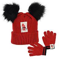 Шапка + перчатки Minnie Mouse (Минни Маус) HS40682 (052-054)