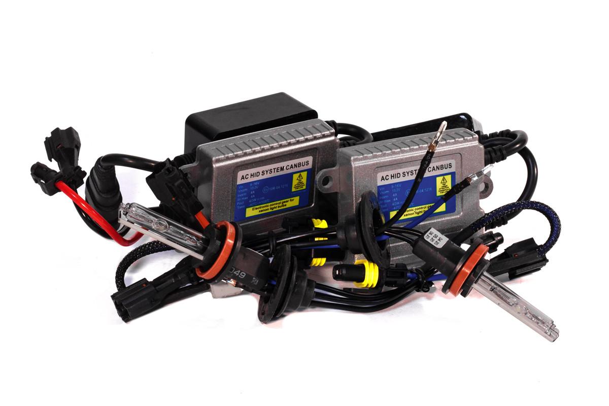 Комплект ксенона КВАНТ H11 5000К 12v блоки AC с обманкой