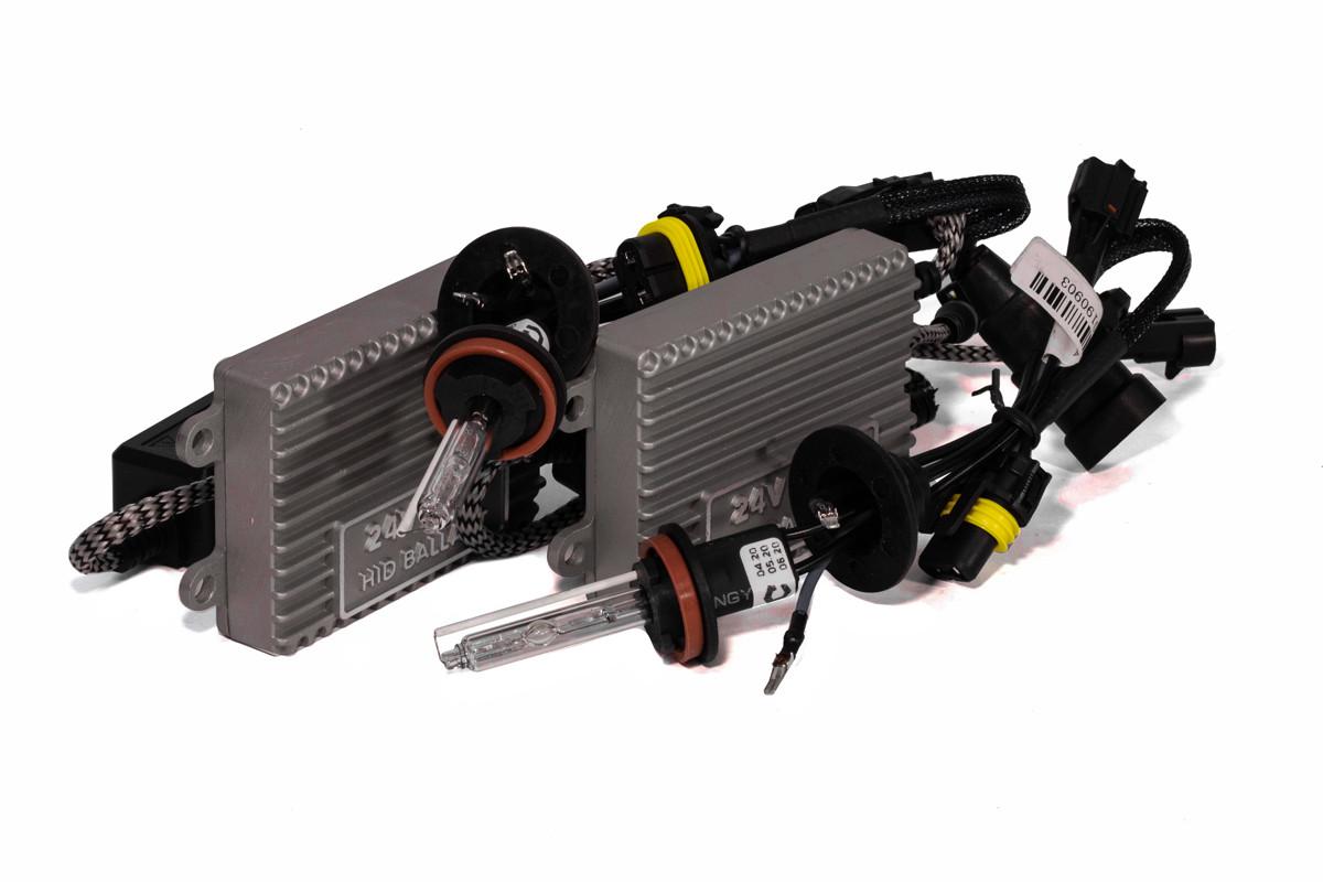 Комплект ксенона КВАНТ H11 5000К 24v с блоками AC