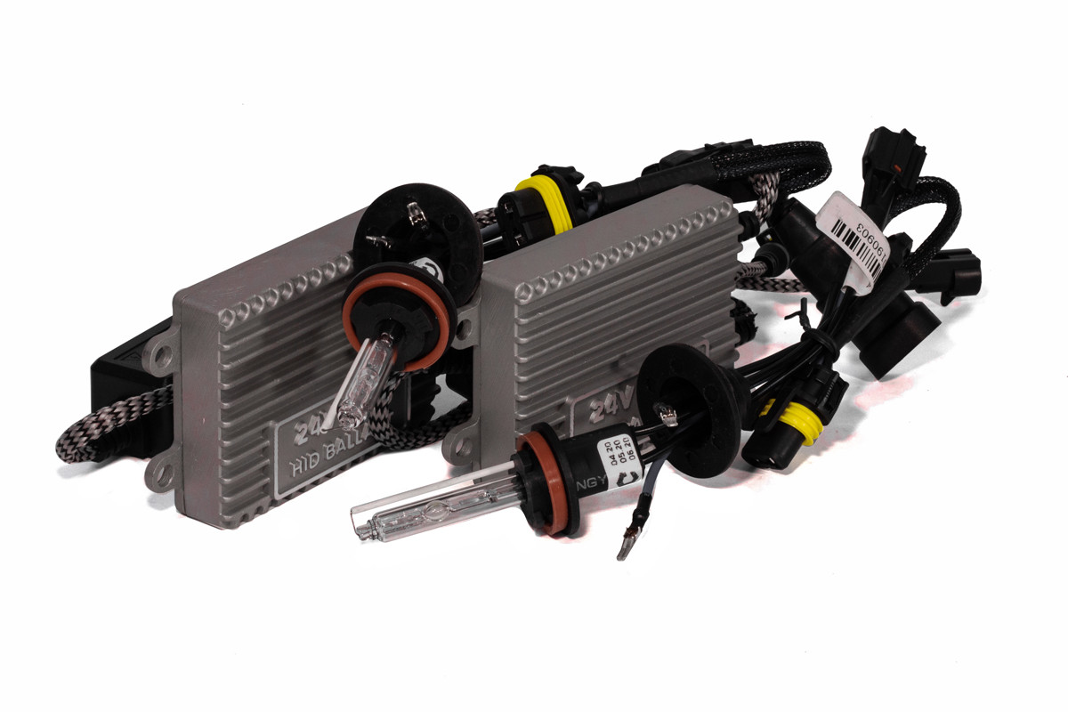 Комплект ксенона КВАНТ H11 6000К 24v с блоками AC