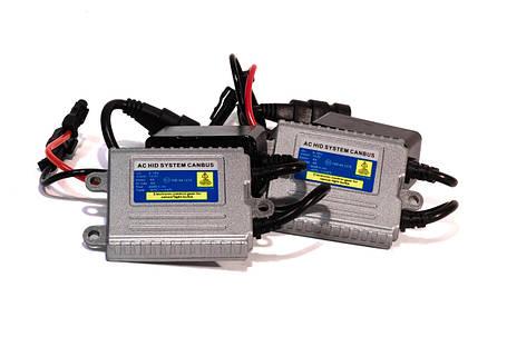 Комплект ксенона КВАНТ H27 6000К 12v блоки AC с обманкой, фото 2