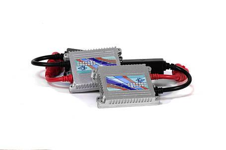 Комплект ксенона КВАНТ H27 6000К 12v с блоками AC, фото 2