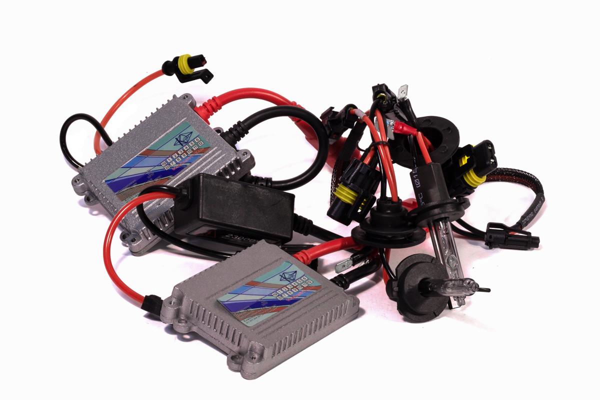Комплект ксенона КВАНТ H7 5000К 12v с блоками AC