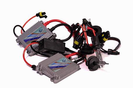 Комплект ксенона КВАНТ H7 5000К 12v с блоками AC, фото 2