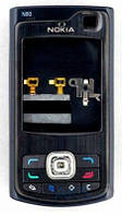 Корпус Nokia N80 с клавиатурой Black