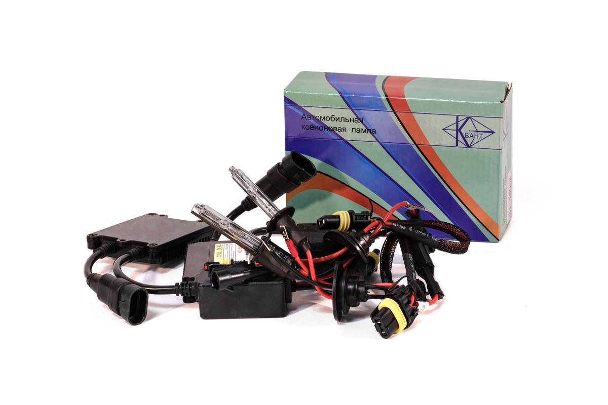 Комплект ксенона КВАНТ H1 6000К 12v с блоками DC