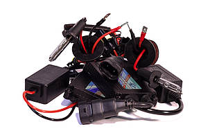 Комплект ксенона КВАНТ H3 5000К 12v с блоками DC, фото 2