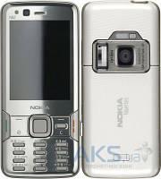 Корпус Nokia N82 с клавиатурой Silver