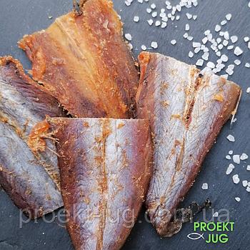Опт Янтарная рыбка с перцем 10 кг (путасу солено-сушеная) закуска к пиву(цена за 1 кг