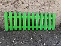 Деревянный забор декоративный разборной LNK 70см, фото 1