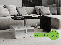 Офисный журнальный столик, кофейный столик из ДСП (7 ЦВЕТОВ) 910х410х526 мм Возможны Ваши размеры