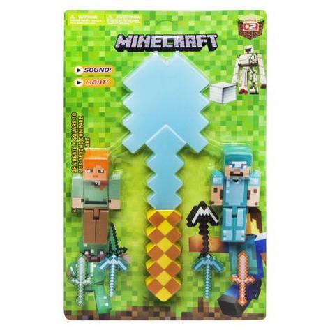 """Игровой набор с оружием """"Minecraft"""", алмазная лопата JL18334B-2, фото 2"""