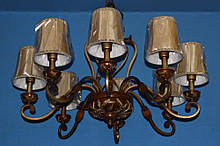 Люстра свеча L2333CF1/8 (W0562)