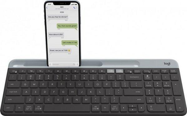 Клавиатура Logitech Wireless K580 Slim Multi-Device Graphite (920-009275)