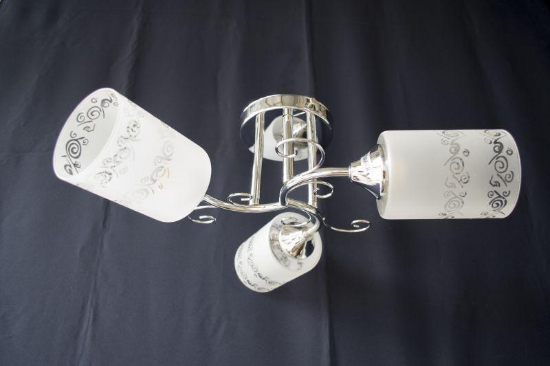Люстра на 3 лампочки 1089в-3