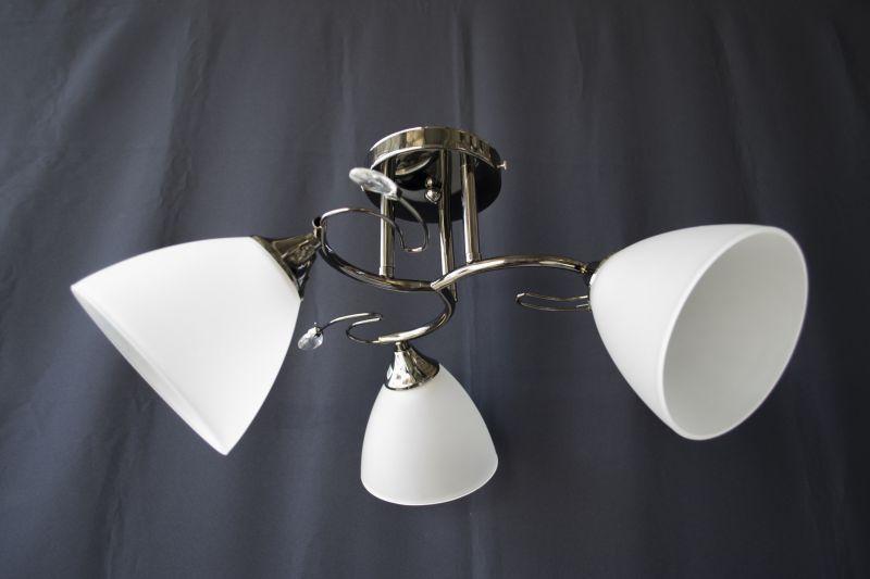 Люстра на 3 лампочки 1158-3