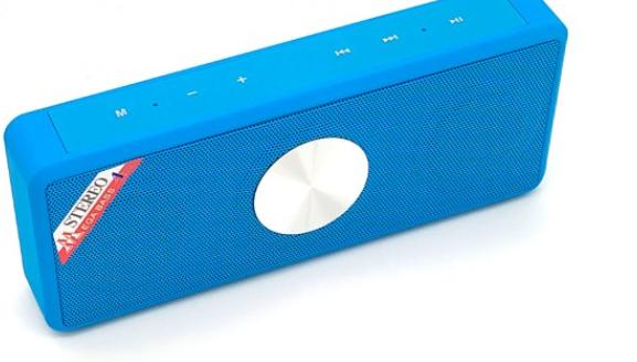 Портативна bluetooth колонка usb MP3 плеєр CMK - 208/B+W, фото 2