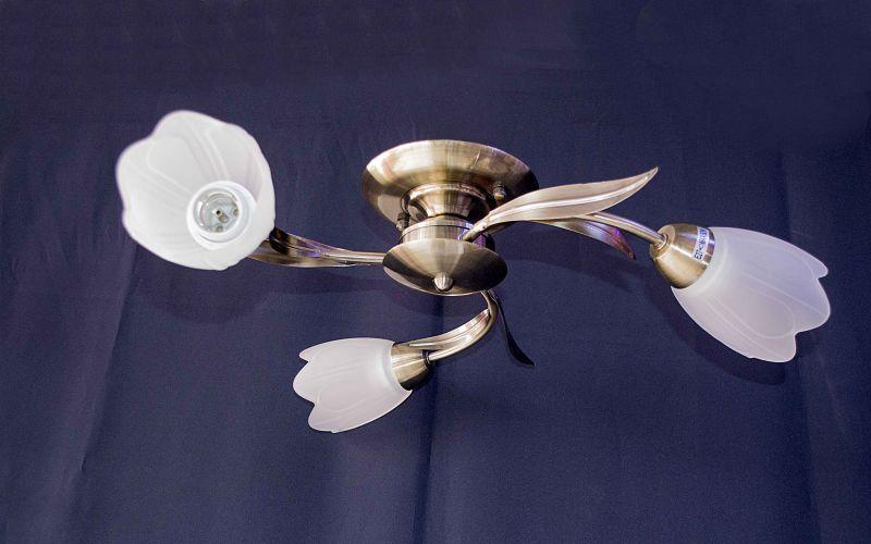 Люстра на 3 лампочки 56473-3с Abwt